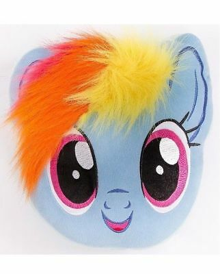 New MY LITTLE PONY Cushion Pillow Girls Kids Childrens Blue Yellow Bedroom Gift