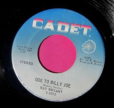 RAY BRYANT - Ode to Billy Joe - clean 45 rpm - Cadet 5575