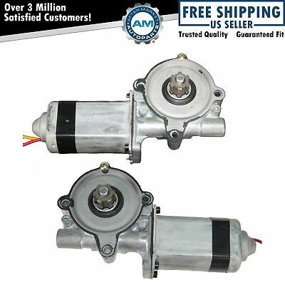 Power Window Motor Pair Set for 90-10 Crown Victoria Grand Marquis Town Car