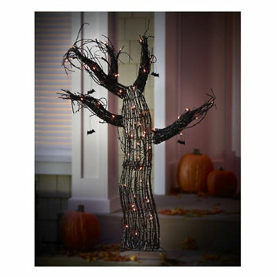 """Alcove 60"""" Lighted Spooky Tree"""