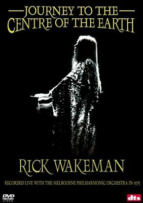 RICK WAKEMAN JOURNEY TO THE CENTRE OF THE EARTH New Sealed DVD
