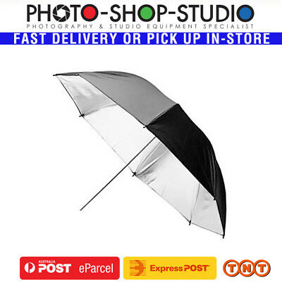 "Jinbei 60"" (150cm) Umbrella Black & Silver *Australia Local Stock*"