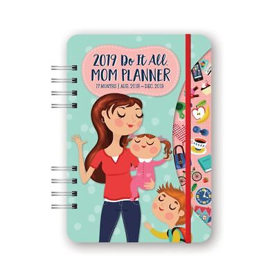 Mom Do It All Planner, Weekly Planners by Orange Circle Studios Corporation