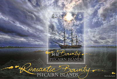 Pitcairn islands 2012 Romantic Bounty m/sheet UM (MNH)