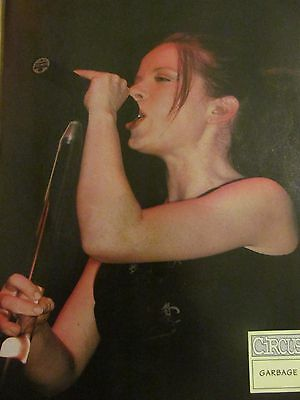 Garbage, Shirley Manson, Korn, Double Full Page Vintage Pinup