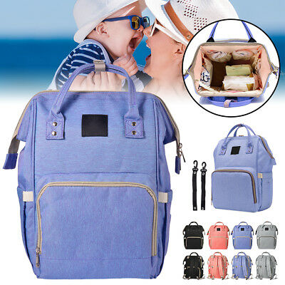 Waterproof Nappy Travel Backpack Multi-Function Diaper Bag with Straps BB024