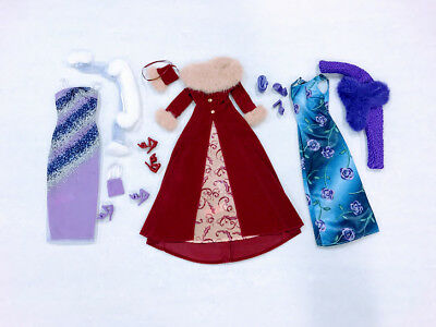 Barbie Doll Mixed Lot Fashion Ave Premiere Outfits
