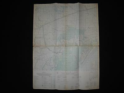 Vietnam War Color Photomap GIA RAI Sheet 6027 II Series L7014 As Of Year 1965
