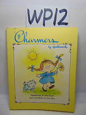 Vintage 1977 Hallmark Charmers Book Happiness In The Heart Put's Sunshine In Day