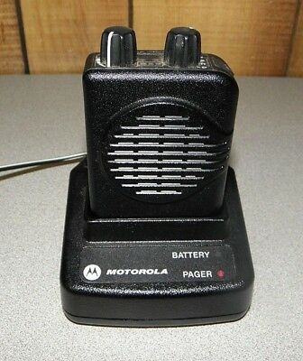 Motorola Minitor V (5) Single Channel Low Band Pager 45-48.995 MHz