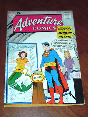 ADVENTURE COMICS #280 (1961) FINE- (5.5) cond. KEY:  LORI LEMARIS