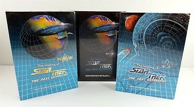 STAR TREK Making of The Next Generation SkyBox Collector Card Sets All 3 Sealed