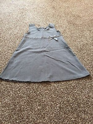BHS Girls Age 5 Years Fantastic Grey Pinafore Dress