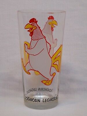 1973 Pepsi Looney Tunes Foghorn Leghorn Warner Bros. Collector Series Glass