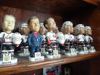 2002 Olympic Team Canada Complete Bobbleheads Like New