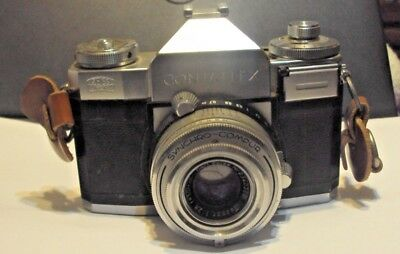 Vintage German Zeiss  Ikon  Contaflex 35 Mm Camera , Photography, Photo.