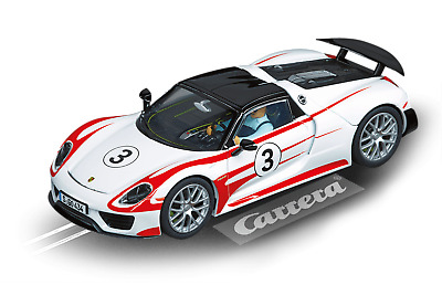 CARRERA EVOLUTION 1/32 SLOT PORSCHE 918 SPYDER No 3 CAR27477