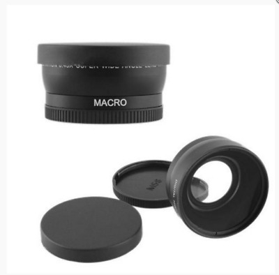 58mm 0.45x Wide Angle & Macro Conversion Lens for Canon EOS 650D 700D 550D New