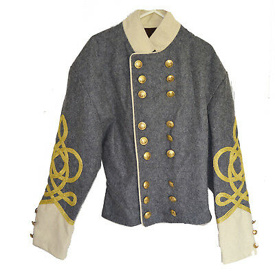 American Civil War Confederate Generals Shell Jacket New In Stock In UK Size 41