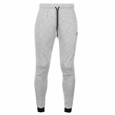 7ba0d87e5af7b Under Armour Mens Baseline Tapered Pants Trousers Bottoms Warm Jersey  Drawstring