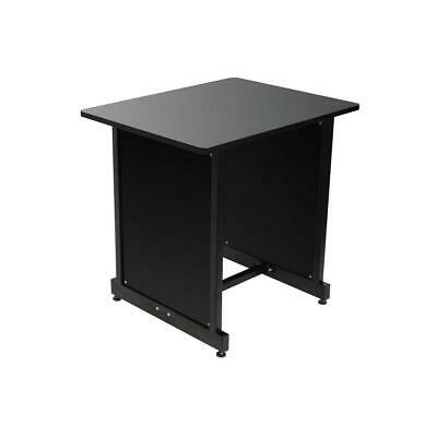 On-Stage WS7500 Workstation Rack Cabinet, Black #WSR7500B