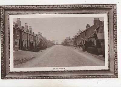 In Leitholm Berwickshire Vintage RP Postcard Richmond 665b
