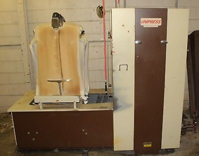 Unipress Corporation CDB Cabinet Shirt Press Dry Cleaning Laundry Machine
