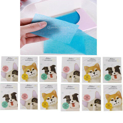 600 Sheets Oil Control Blotting Paper Facial Oil-Absorbing Papers Sheets mit
