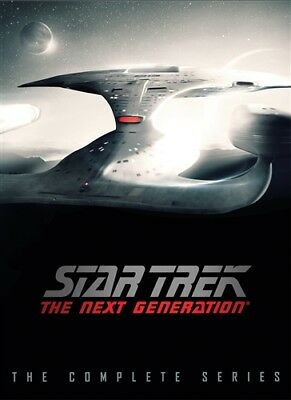 STAR TREK THE NEXT GENERATION COMPLETE SERIES New 48 DVD 2016 DVD Release