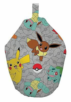 Pokemon Go Catch Kids 3ft Bean Bag Filled Chair Seat Bedroom Play Room