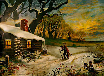 """""""1811 Backwoodsman Christmas"""" by McLoughlin Bros from 1903"""