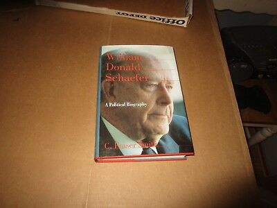 Baltimore Maryland Mayor William Donald Schaefer Signed Book Governor Maryland