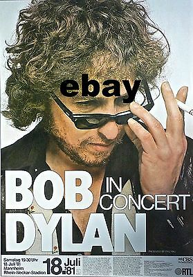 "Bob Dylan German 16"" x 12"" Photo Repro Concert Poster"