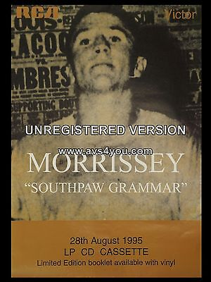 "Morrissey Souhpaw Grammar 16"" x 12"" Photo Repro Promo Poster"
