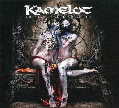 Poetry for the Poisoned Kamelot CD JEWEL