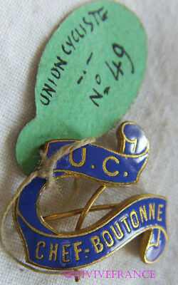 Bg8462 - Insigne Badge Union Cycliste - Chef Boutonne