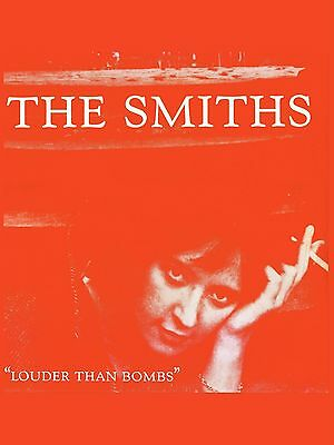 "The Smiths LOUDER THAN BOMBS 16"" x 12"" Photo Repro Promo  Poster"