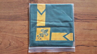 BSA, Green/Gold Full Square Neckerchief