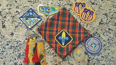 BSA, 23 Piece Webelo Collection (Neckerchief, Patches, Pins, etc.)