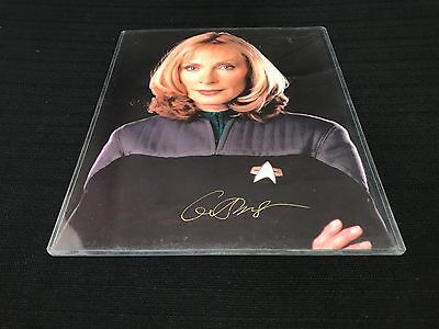 Dr. Beverly Crusher Star Trek First Contact Gates McFadden 8 X 10 Autograph #53
