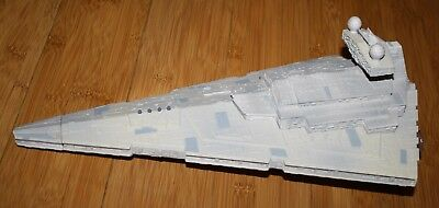 "1997 Star Wars Collector Fleet Electronic Imperial Star Destroyer Ship 15"" Sound"