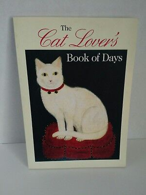 The Cat Lovers Book Of Days calendar Ten speed press 1997 date appointments sc