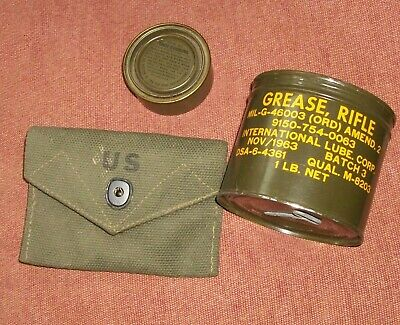1969 Military Issue Decontamination Kit M13 Army Field Gear Vietnam Era Soldier