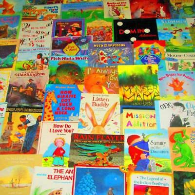 Children's/Kids Picture Reading Book Lot of 50-SC-Poor Puppy, Mouse Count, Bear