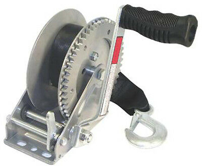 Tough Guy 1800 lb. Trailer Winch with Strap