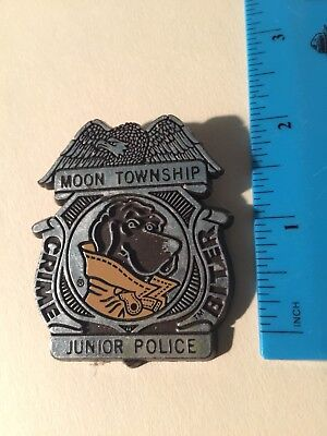 McGruff The Crime Dog Junior Police Crime Biter Badge Moon Township Pittsburgh