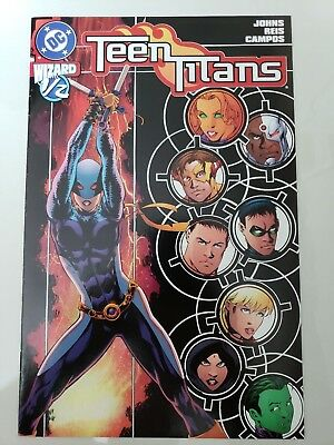 Teen Titans #1/2 (2004) Dc Comics Wizard Ravager! Daughter Of Deathstroke Nm
