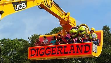 Diggerland 20% off Valid for upto 4 people valid till 28th Oct 2018