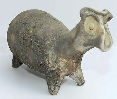Ancient Biblical Egyptian Iron Age Pottery Zoomorphic Holy Land Pottery Clay Rep