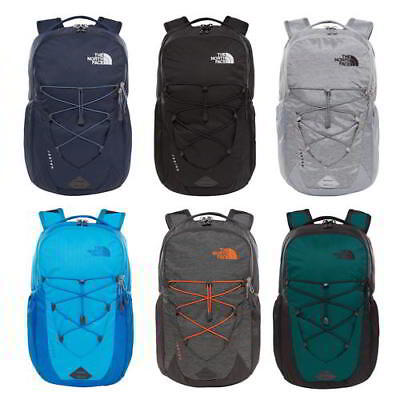 The North Face Jester Mens Womens Black Grey Blue Green Backpack Bag